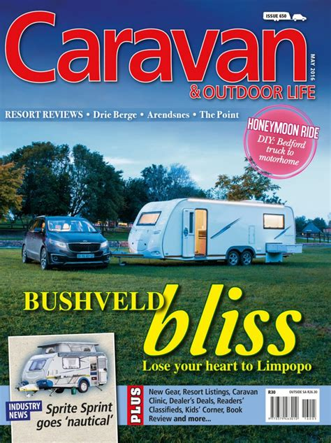 Whos News Lifestyle Magazine 22 by Industry News The Sprite Tourer Sp And Sw Caravan