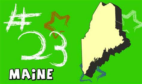 Maine The 23rd State welcome to usa 4 maine state information