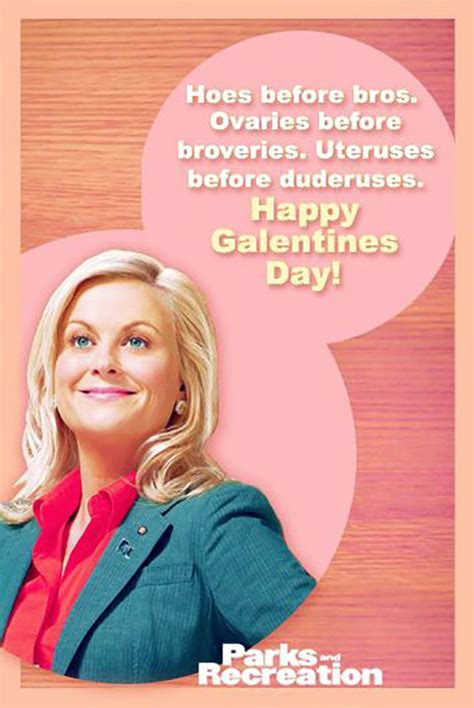 parks and rec valentines galentines day parks and recreation you go