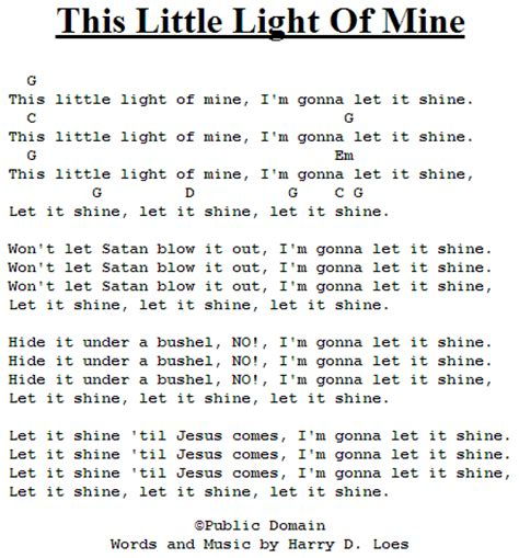 this light of mine lyrics gospel this light of mine best beginner guitar lessons