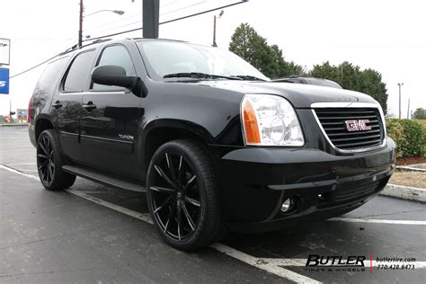 gmc yukon rims and tires gmc yukon with 24in lexani css15 wheels exclusively from