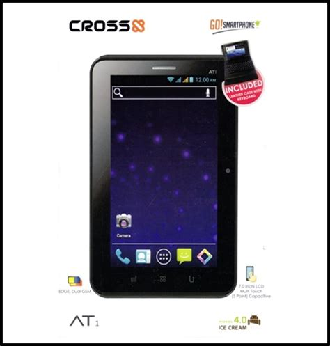Tablet Cross At1g Spesifikasi Cross At 1 G Spesifikasi Cross At 1 G Cross Andromeda At1 Tablet