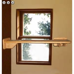 cat window shelves l shaped window cat walk shelf