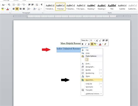 layout hyperlink word stephen hise s blog tips for formatting your book
