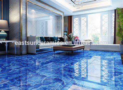 12x12 Blue Ceramic Floor Tile,Blue Marble Floor Tile,Blue