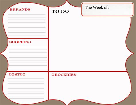 how to make a printable to do list so much to do bungalow
