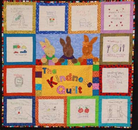 The Kindness Quilt storybook template