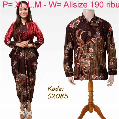 Cople Batik baju batik modern model batik model baju batik