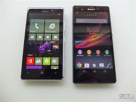 Nokia Lumia Z Nokia Lumia 925 Sony Xperia Z