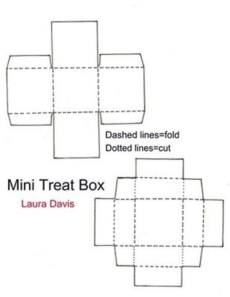 1000 Images About Paper Craft Templates On Pinterest Favor Boxes Little Boxes And Gift Boxes Treat Box Template