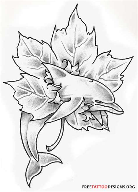dolphin rose tattoo aqua dolphins with roses design in 2017 real photo