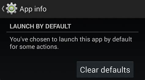 set default app android how to remove change or set default apps in android
