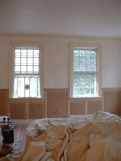 wainscoting living room dining room wainscoting craftsman living room new