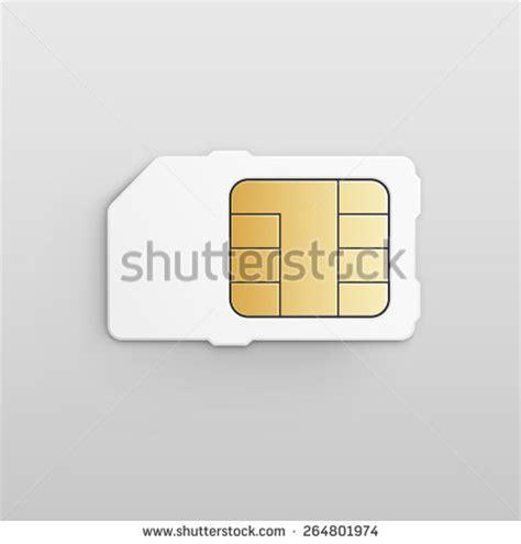 Sim Card Chip Mati vector mobile cellular phone sim card stock vector 264801974