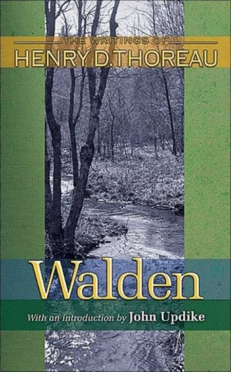 books like walden quot walden or in the woods quot by henry david thoreau