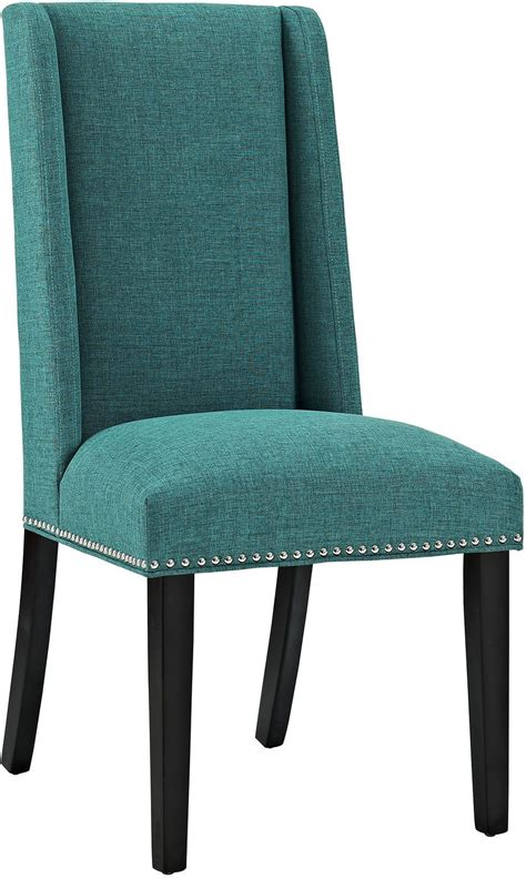baron teal upholstered dining chair from renegade coleman furniture