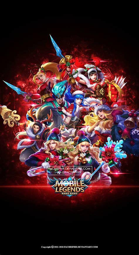 wallpaper phone mobile legend christmas carnival