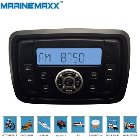 i am on a boat mp3 marinemaxx marine stereo audio mp3 radio fm am bluetooth