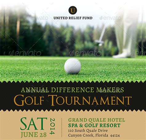 golf cart tournament cards template 21 golf tournament flyer templates sle templates
