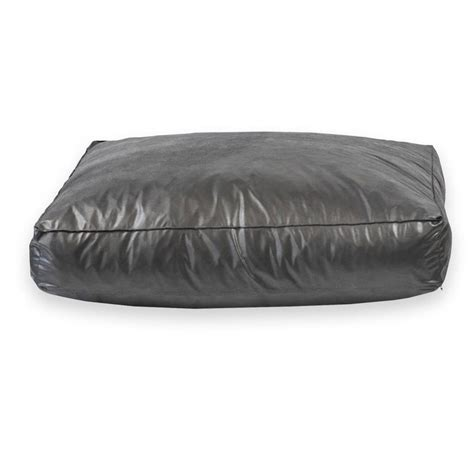 leather dog beds faux leather dog bed very stylish pet bed looks great in
