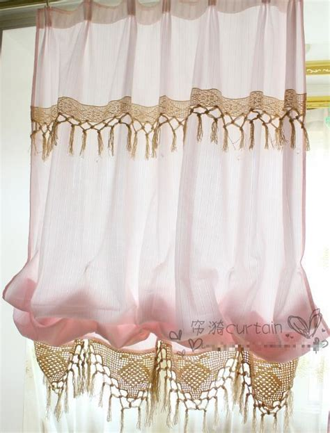balloon curtains for kitchen balloon curtains pastoral curtains for kitchen window
