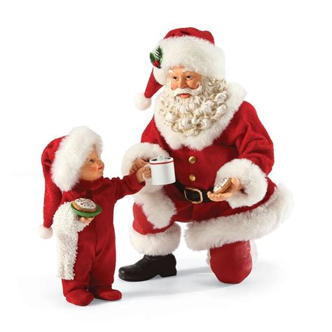 collectible santa figurines images