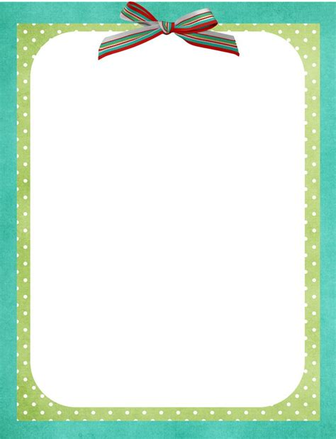 Free Word Template With Border Cards by 132 Best Stationary Printable Preschool Images On