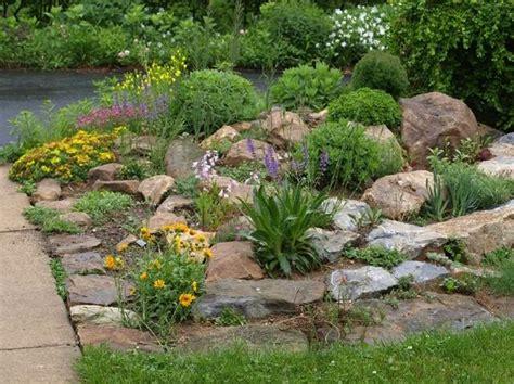 rock gardens on slopes photos rock garden slopes