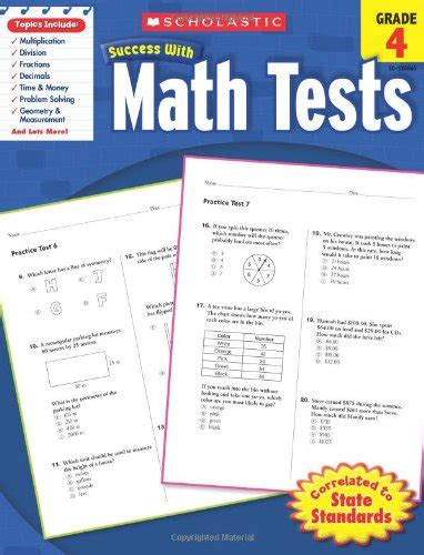 Pdf Scholastic Success Tests Grade Workbooks by Buy Assessment Back To School For Teachers Books