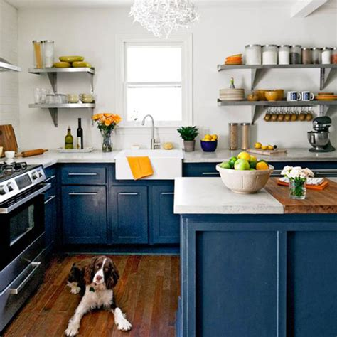 Pictures Of Painted Kitchen Cabinets Before And After Inspire Se Com Cozinhas Em Azul Marinho Lolahome