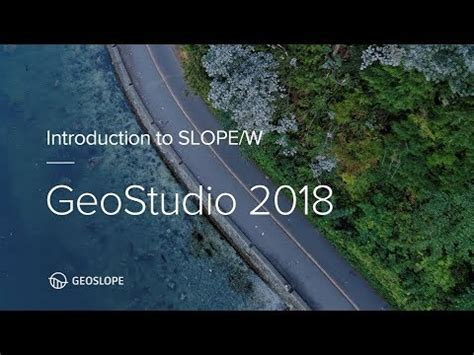 slope w tutorial geostudio 2018 slope w tutorial youtube