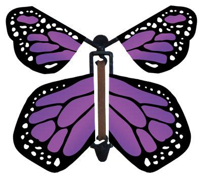 flying butterfly card template purple wind up flying butterfly fly paper paper