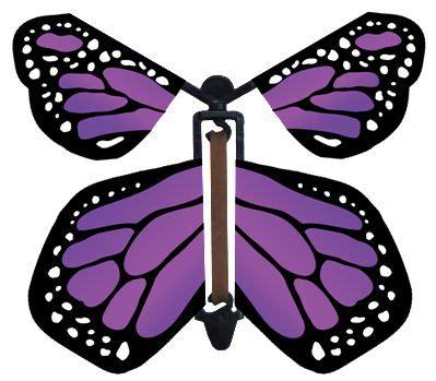 Flying Butterfly Card Template by Purple Wind Up Flying Butterfly Fly Paper Paper