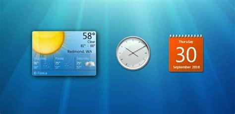 Calendario De Windows 7 Windows Quot Matar 225 Quot Los Gadgets Escritorio De W7 Taringa