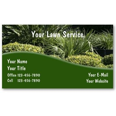 landscaping business cards why start a landscaping
