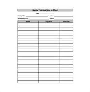 Free Sign In Sheet Template by 18 Sign In Sheet Templates Free Sle Exle Format