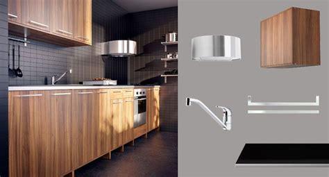 encimera efecto madera cocina fyndig con puertas cajones marr 243 n efecto madera y