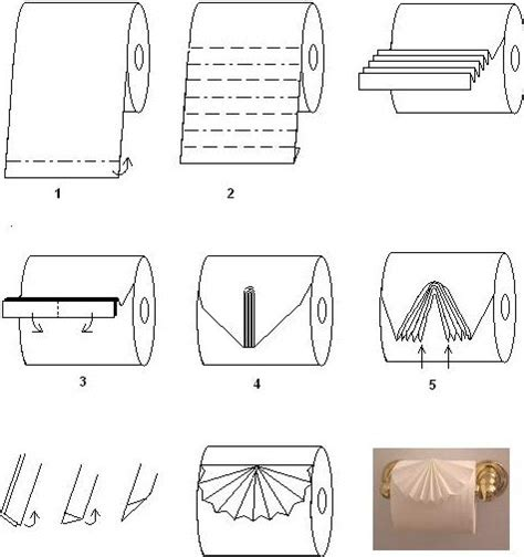 How To Make A Paper Toilet - toilet paper design swan