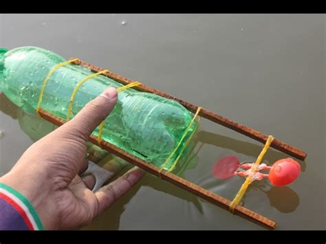 rubber band boat rubber band powered boat toy boat and science