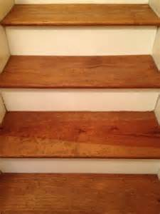 Stair Treads Pine by Diy Pine Stair Treads Remodel Home Entrance L Stairs