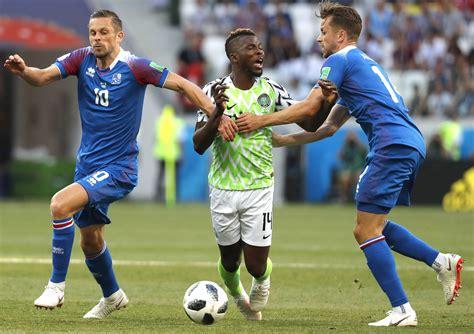 ver en vivo nigeria vs islandia hora canales y