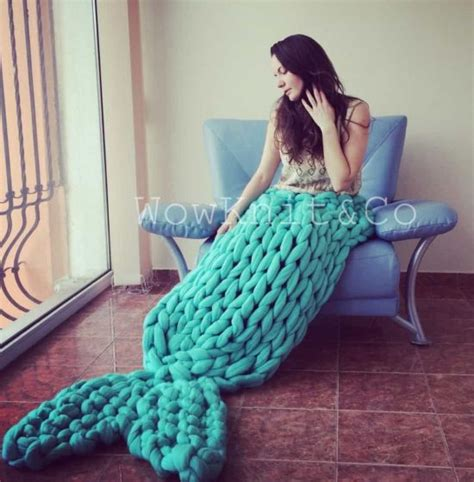 knitted mermaid crochet mermaid blanket tutorial diy