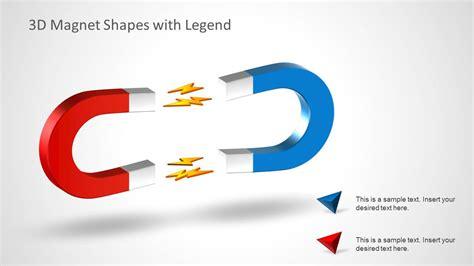 home design 3d magnetism 3d magnet shape for powerpoint slidemodel