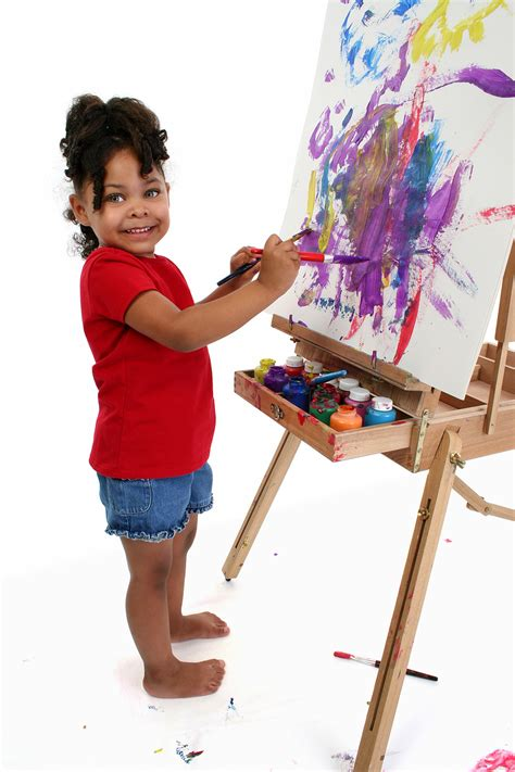 Montessori For Everyone Blog Children Painting Pictures