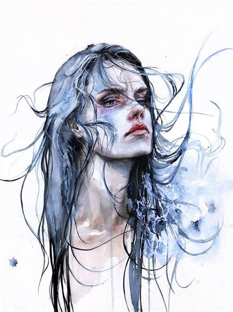 artdesign ro agnes cecile emociones en forma de color aquarell