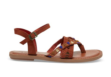 beaded sandals rooibos tea suede beaded s lexie sandals toms 174