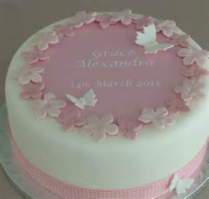 how to decorate a christening cake for boy personalised boys christening cake decorating kit by