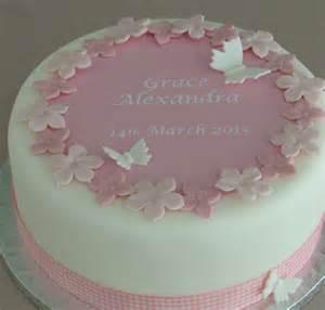 personalised boys christening cake decorating kit by