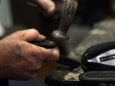 shoe repair eugene roland park cobbler wants to save your sole