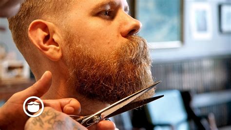 haircut beard youtube classic haircut and beard trim at old school barbershop